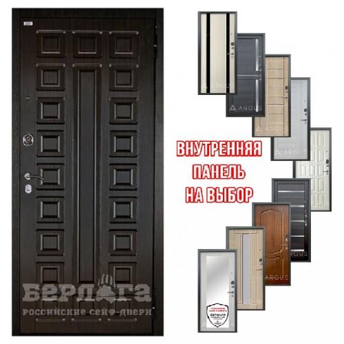 Входная дверь - Берлога ОПТИМА 2П Сенатор(панель на выбор)