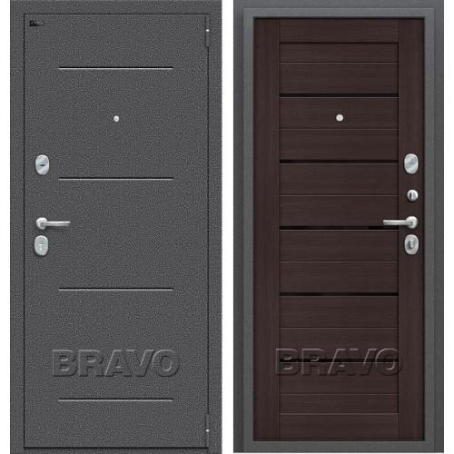 Входная дверь - Porta S 104.П22 Wenge Veralinga/Black Star