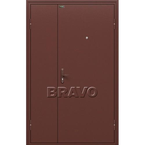 Входная дверь - Дуо Слим Антик Медь