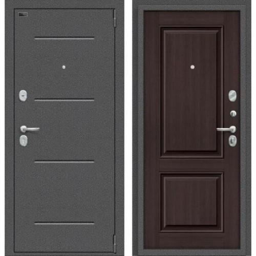 Входная дверь - Porta S 104.К32 Антик Серебро/Wenge Veralinga