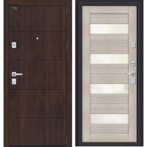 Входная дверь - Porta M 4.П23 Almon 28/Cappuccino Veralinga