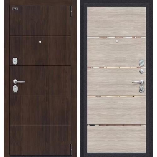 Входная дверь - Porta S 4.П50 (IMP-6) Almon 28 / Cappuccino Veralinga