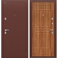Входная дверь -  Старт Антик Медь/П-8 (Янтарный Дуб)