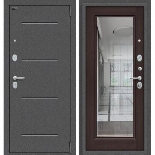 Входная дверь - Porta S 104.П61 Антик Серебро/Wenge Veralinga