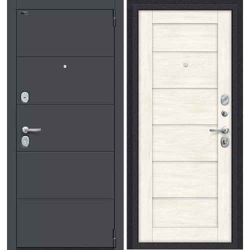 Входная дверь - Porta S 4.Л22 Graphite Pro / Nordic Oak