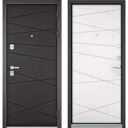 Входная дверь - Бульдорс PREMIUM 90 Графит софт 9Р-130, Цвет