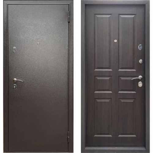 Входная дверь - Бульдорс Econom Букле шоколад /МДФ 4,2 мм - Ларче шоколад С-2