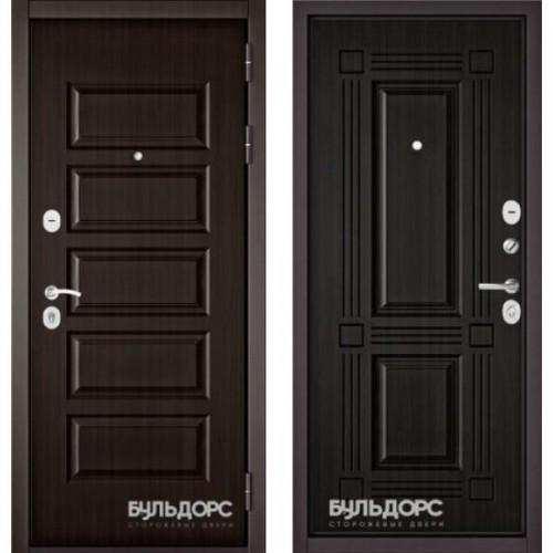 Входная дверь - MASS-90(РР Ларче шоколад 9S-108 / Ларче темный 9S-104 )