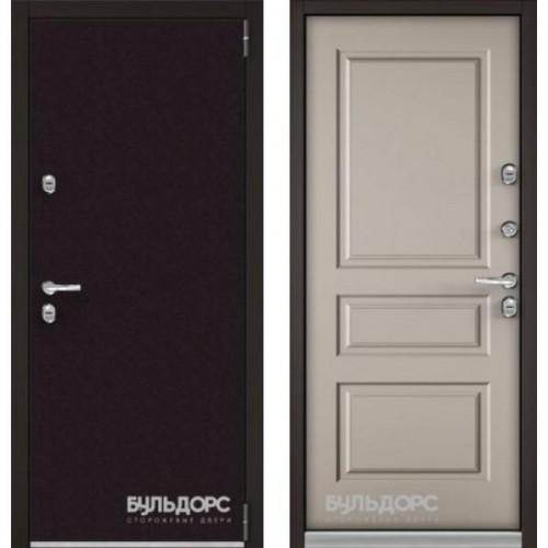 Входная дверь - Бульдорс ТЕРМО-3 Горячий шоколад 8019/Кремовый ликер ТD-2.3
