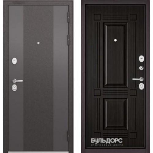 Входная дверь - STANDART 90 (МР Чёрный шелк 9К-4 /Ларче темный 9S-104 )