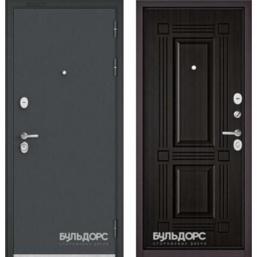 Входная дверь - STANDART - 90 (МРЧерный шелк/Ларче темный 9S-104 )