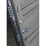 Входная дверь - 10,5 см Чикаго Царга дуб шале графит