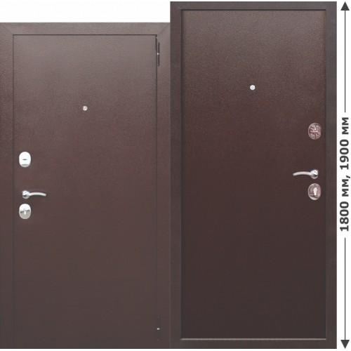 Входная дверь - GARDA mini Металл/Металл высота 1900 / 1800 мм