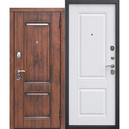 Входная дверь - 9,5 см ВЕНА Vinorit Патина МДФ/МДФ Белый матовый