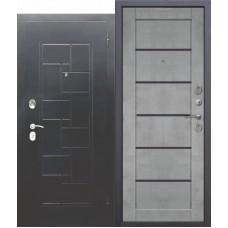 Входная дверь ГАРДА Серебро Царга Бетон серый