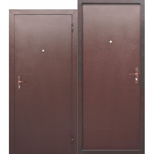 Входная дверь - СТРОЙГОСТ 5 РФ Металл/Металл
