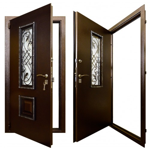 Входная дверь - Гранит Коттедж
