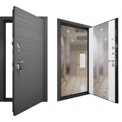 Входная дверь - Гранит C9 Зеркало