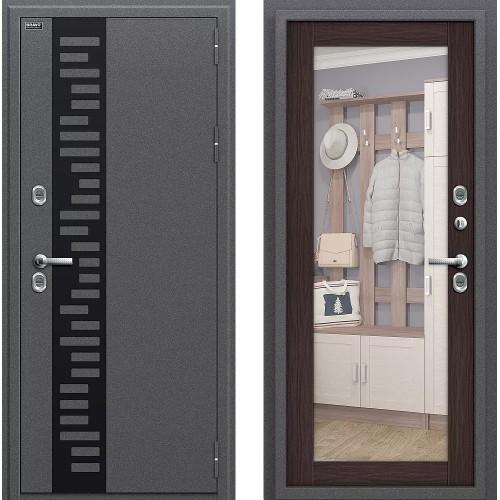 Входная дверь - Термо 220 Антик Серебро/Wenge Veralinga