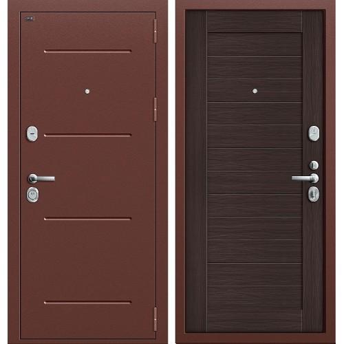 Входная дверь - GROFF Т2-221 Антик Медь/Wenge Veralinga