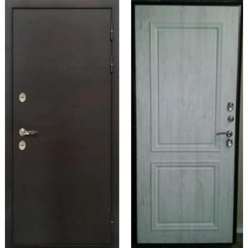 Входная дверь - Лекс Термо Стандарт 3К (Сосна белая с багетом)