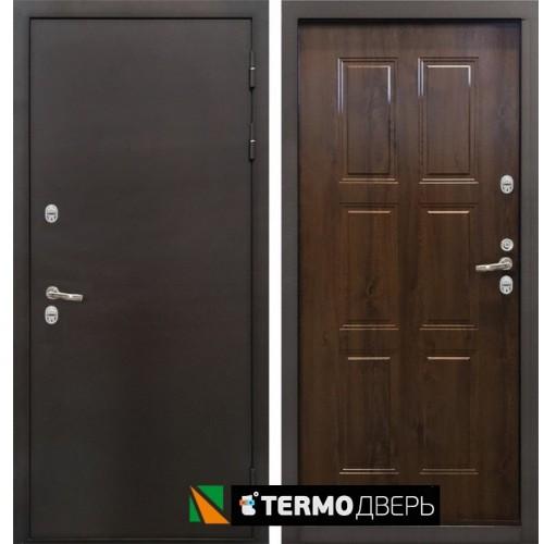 Входная дверь - Лекс Термо Стандарт 3К (Грецкий орех)