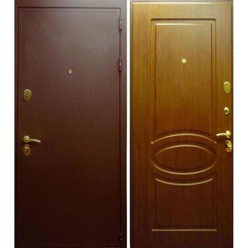 Входная дверь - Лекс 5 Орех тисненый