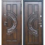 Входная дверь - Лекс 10 Спартак 3к (Golden патина черная)