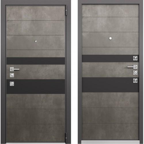 Входная дверь - Mastino FORTE NEW Бетон темный MS-118,Бетон темный MS-118