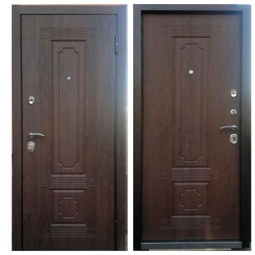 Входная дверь - Персона ТЕХНО 3, Винорит 10мм Орех Грецкий рис.ЧИЖ