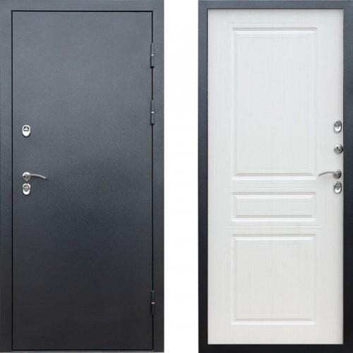Входная дверь с терморазрывом - Сибирь термо антик серебро (TD)