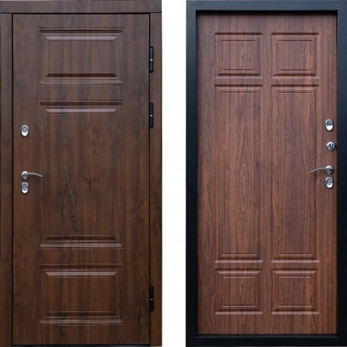 Входная дверь с терморазрывом - Сибирь термо премиум орех Винорит (TD)