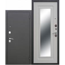 Входная дверь - Царское зеркало муар Белый Ясень
