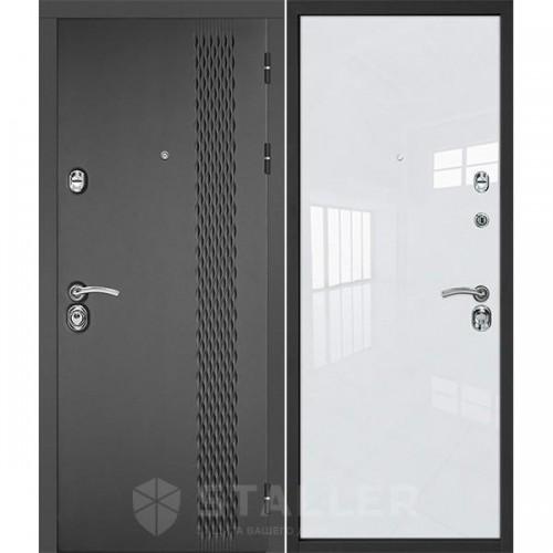 Входная дверь - Лика, белый люкс