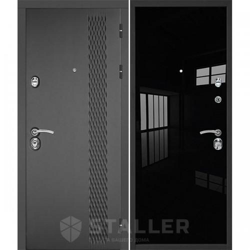Входная дверь - Лика, черный люкс