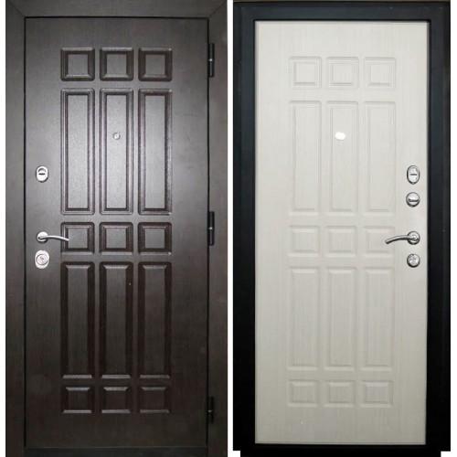 Входная дверь - VERDA мет. SD Prof-5 Сенатор беленый дуб