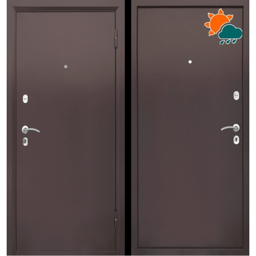 Входная дверь - Патриот Металл / Металл