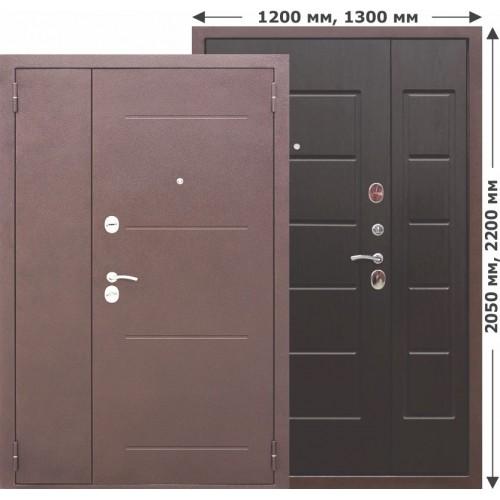 Входная дверь - 7,5 Гарда венге 1300