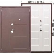 Входная дверь - 7,5 Гарда Белый ясень 1300