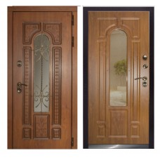Входная дверь - Лацио термо (с ковкой) (ZD)