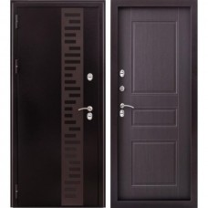 Входная дверь - Урал МП с декором терморазрыв венге (ZD)